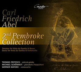 Carl Friedrich Abel: 2nd Pembroke Collection (2CD, Coviello)