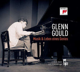 Glenn Gould Collection: Musik & Leben eines Genies (2CD met luxe en zeer omvangrijk booklet, Sony)