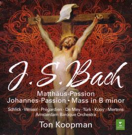 Johann Sebastian Bach: Matthäus-Passion, Johannes-Passion, Mass in B minor (7CD, Erato)