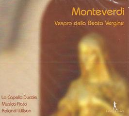 Claudio Monteverdi: Vespro della Beata Vergine (Pan Classics)
