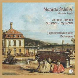 Mozarts Schüler Storace, Attwood, Süssmayr, Freystädtler (Christophorus)