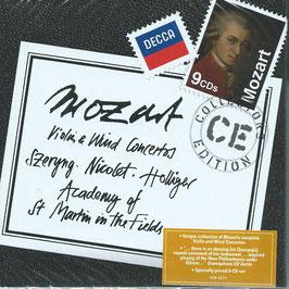Wolfgang Amadeus Mozart: Violin & Wind Concertos (9CD, Decca)