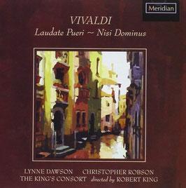 Antonio Vivaldi: Laudate pueri, Nisi Dominus (Meridian)