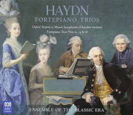 Joseph Haydn: Fortepiano Trios Nos 12, 14 & 18, Oxford, Surprise & Miracle Symphonies (chamber versions) (2CD, ABC)