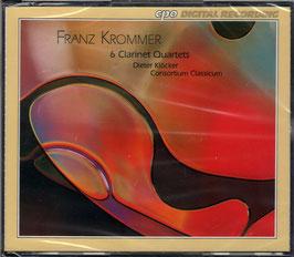Franz Krommer: 6 Clarinet Quartets (2CD, CPO)