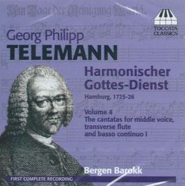 Georg Philipp Telemann: Harmonischer Gottes-Dienst volume 4 (Toccata)