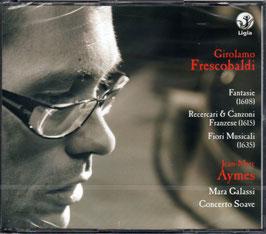 Girolamo Frescobaldi: Fantasie 1608, Recercari & Canzoni Franzese 1615, Fiori Musicali 1635 (3CD, Ligia Digital)