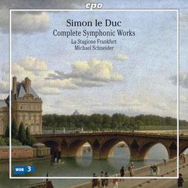 Simon Le Duc: Complete Symphonies (CPO)