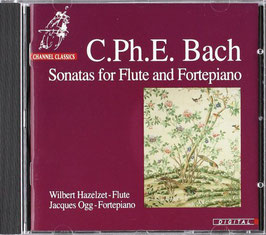 Carl Philipp Emanuel Bach: Sonatas for Flute and Fortepiano (Channel Classics)