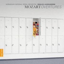 Wolfgang Amadeus Mozart: Overtures (Naïve)