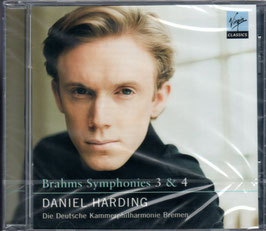 Johannes Brahms: Symphonies 3 & 4 (Virgin Classics)