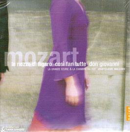 Wolfgang Amadeus Mozart: Le Nozze di Figaro, Così fan tutte, Don Giovanni (8CD, Naïve)