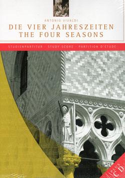 Antonio Vivaldi: The Four Seasons, Study Score (CD, Partituur, Capriccio)
