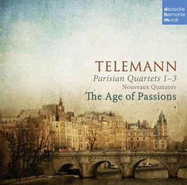 Georg Philipp Telemann: Parisian Quartets 1-3, Nouveaux Quatuors (Deutsche Harmonia Mundi)
