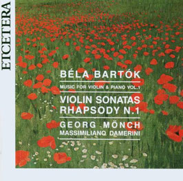 Béla Bartók: Violin Sonatas, Rhapsody N. 1 (Etcetera)
