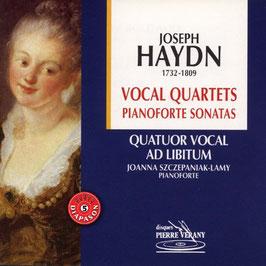 Joseph Haydn: Vocal Quartets, Pianoforte Sonatas (Pierre Verany)