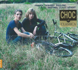 César Franck, Claude Debussy, Francis Poulenc: Sonates pour violoncelle et piano (Naïve)