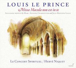 Louis Le Prince: Missa Macula non est in te (Glossa)