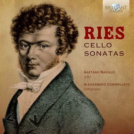 Ferdinand Ries: Cello Sontas (Brilliant)