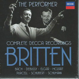 Benjamin Britten: The Performer, Complete Decca Recordings (27CD, Decca)