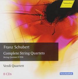 Franz Schubert: Complete String Quartets, String Quintet D956 (8CD, Hänssler)