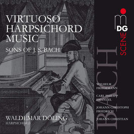 Virtuoso Harpsichord Music by the Sons of J.S. Bach (MDG)