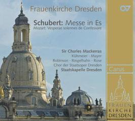 Franz Schubert: Messe in Es, Wolfgang Amadeus Mozart: Vesperae solennes de Confessore (Carus)