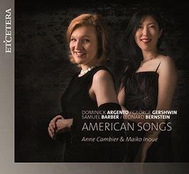 American Songs: Dominick Argento, George Gershwin, Samuel Barber, Leonard Bernstein (Etcetera)