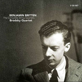 Benjamin Britten: The Complete String Quartets (2CD, Challenge)
