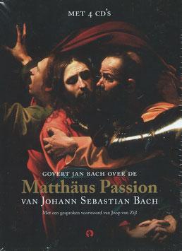 Johann Sebastian Bach: Govert Jan Bach over de Matthäus Passion, hoorcollege met muziekfragmenten (4CD, boek, Rubinstein)