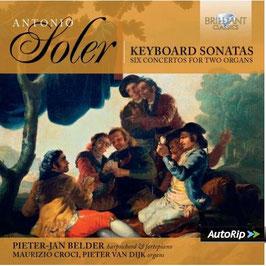 Antonio Soler: Harpischord Sonatas, Six Concertos for Two Organs (9CD, Brilliant)