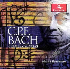 Carl Philipp Emanuel Bach: Chamber Sonatas (Centaur)