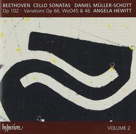 Ludwig van Beethoven: Cello Sonatas volume 2 (Hyperion)