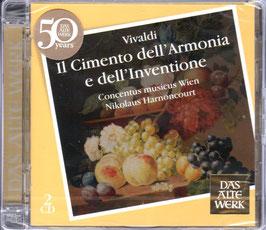 Antonio Vivaldi: Il Cimento dell'Armonia e dell'Inventione (2CD, Teldec)