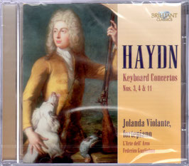 Joseph Haydn: Keyboard Concertos Nos. 3, 4 & 11 (Brilliant)