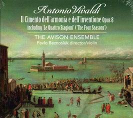 Antonio Vivaldi: Il Cimento dell'Armonia e dell'Inventione, Opus 8, including 'Le Quattro Stagioni' (2CD, Linn)