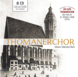 Johann Sebastian Bach: 800 Jahre Thomanerchor (Motetten, Matthäus Passion, Johannes Passion, Magnificat, cantates) (8CD, Membran)