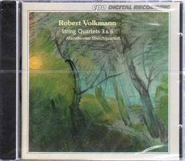 Robert Volkmann: String Quartets 3 & 6 (CPO)