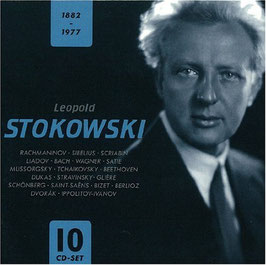 Stokowski 1882-1977 (10CD, Documents)