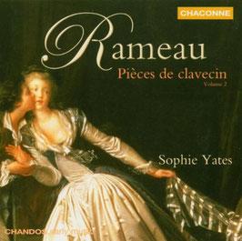Jean-Philippe Rameau: Pièces de clavecin, Volume 2 (Chandos Chaconne)
