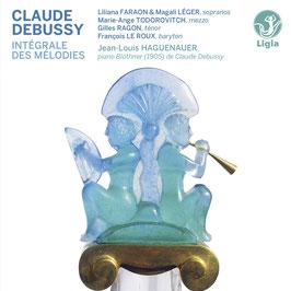 Claude Debussy: Intégrale des Mélodies (4CD, Ligia Digital)