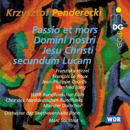 Krysztof Penderecki: Passio et mors Domini nostri Jesu Christi secundum Lucam (MDG)