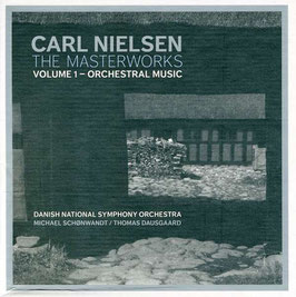 Carl Nielsen: The Masterworks, volume 1 - Orchestral Music (4CD, 2DVD, DaCapo)