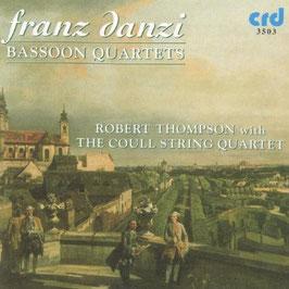 Franz Danzi: Bassoon Quartets (CRD)