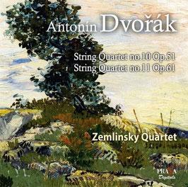 Antonín Dvorák: String Quartet no. 10 Op. 51, String Quartet no. 11 Op. 61 (SACD, Praga)