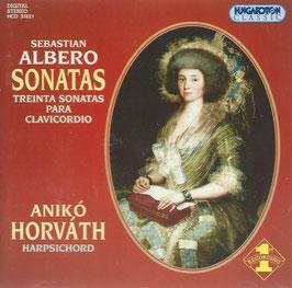 Sebastian Albero: Treinta sonatas para clavicordo (Hungaroton)