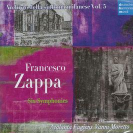 Francesco Zappa: Six Symphonies (Deutsche Harmonia Mundi)