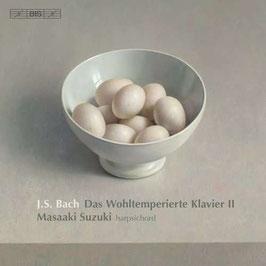 Johann Sebastian Bach: Das Wohltemperierte Klavier II (2CD, BIS)