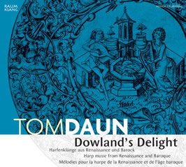 Dowland's Delight, Harp Music from Renaissance and Baroque (Raumklang)