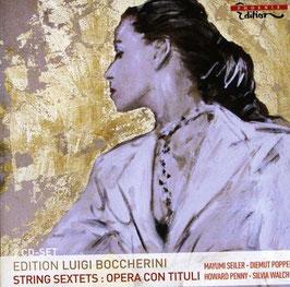 Luigi Boccherini: Edition Luigi Boccherini, String Sextets, Opera con Tituli (2CD, Phoenix)